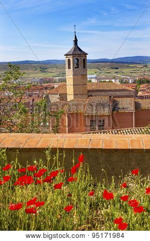 Convent Santa Maria Avila Ancient Medieval City Cityscape Castile Spain