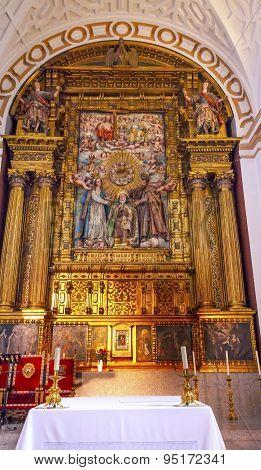 Convento De Santa Teresa Basilica Altar Avila Castile Spain