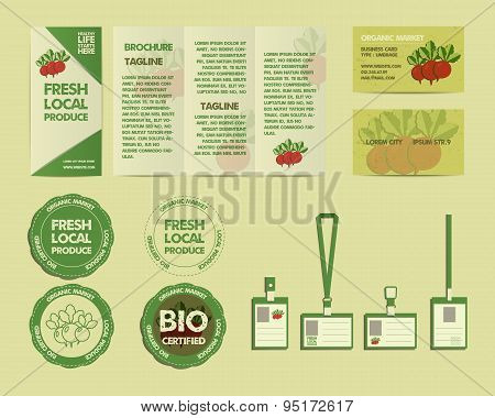 Eco Food Identity Elements