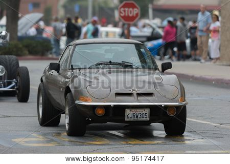 Opel Gt Car On Display