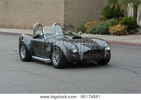 Shelby Cobra Car On Display