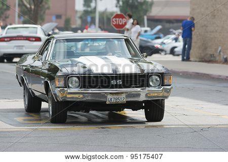 Chevrolet El Camino Ss Car On Display