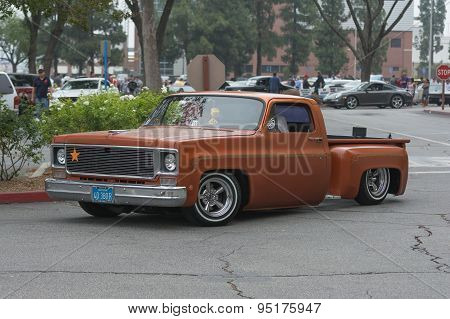 Chevrolet C10 Stepside Pickup Truck On Display