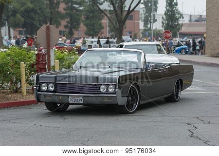 Lincoln Continental Car On Display