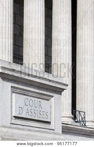 Courthouse in France