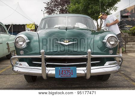 1952 Kaiser Virginian Traveler Car Front View