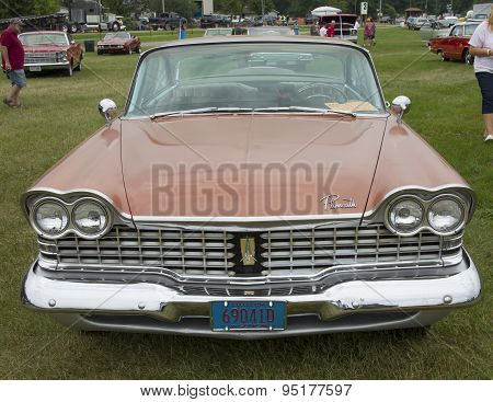 1959 Plymouth Sport Fury Car Front View