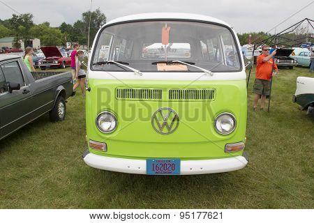 1971 Volkswagen Vw Van Green