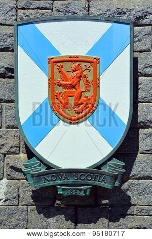 Coat of arms of Nova Scotia