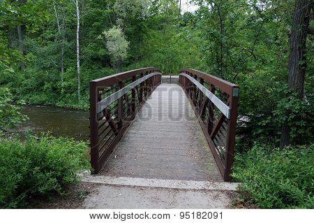 Footbridge Over the Bear River