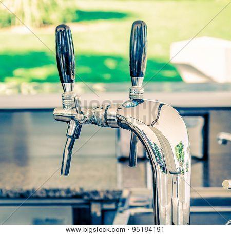 Metallic Water Dispenser