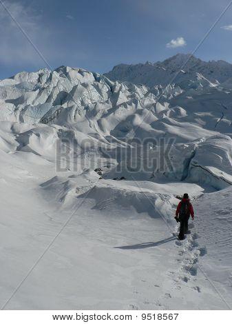 Alaska Glacier Snowshoe