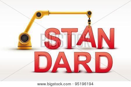 Industrial Robotic Arm Building Standard Word