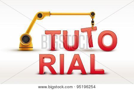 Industrial Robotic Arm Building Tutorial Word