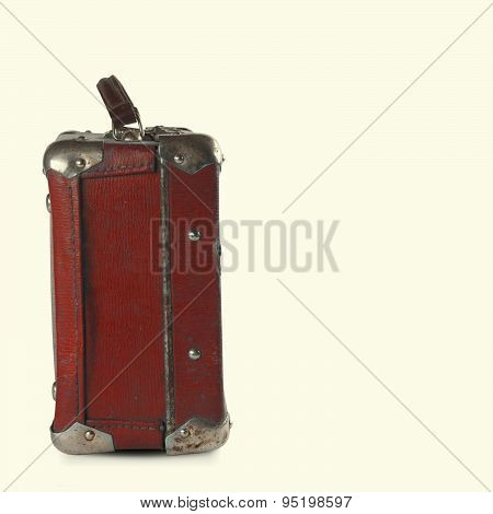 Dark Red, Brown Baggage