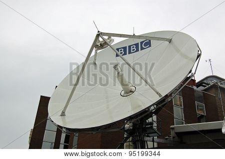 BBC Television Centre Satellite Dish