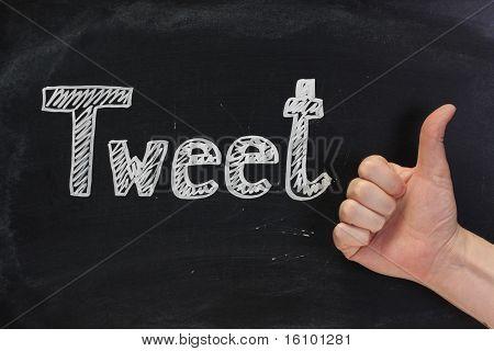 Tweet Thumbs Up