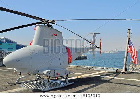 Helicóptero de reconhecimento não tripulados