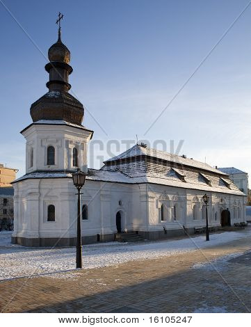 Church With Wooden Cupola