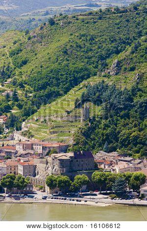 Tournon-sur-Rhone, Rhone-Alpes, France