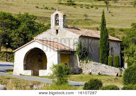 church, Rougon, Provence, France