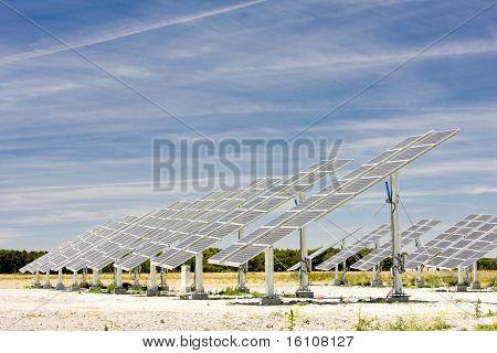 solar panels, Castile and Leon, Spain