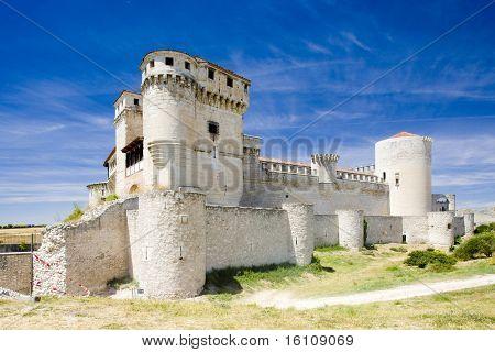 Cuellar Castle, Segovia Province, Castile and Leon, Spain