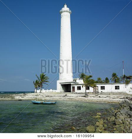 lighthouse, Cayo Sabinal, Camaguey Province, Cuba