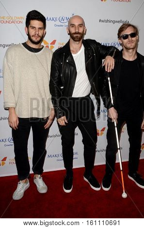 LOS ANGELES - DEC 7:  X Ambassadors, Adam Levin, Sam Harris, Casey Harris at the  at the  at Hollywood Palladium on December 7, 2016 in Los Angeles, CA