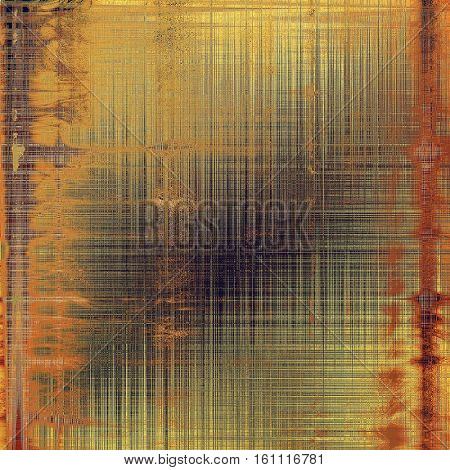 Vintage elegant background, creased grunge backdrop with aged texture and different color patterns: yellow (beige); brown; gray; red (orange); purple (violet); pink