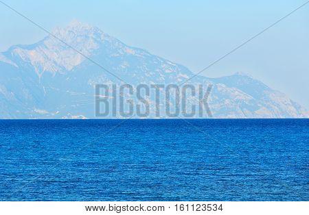 Aegean Sea Coast (chalkidiki, Greece).