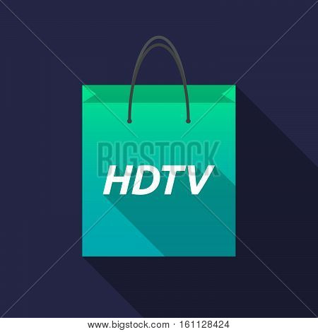 Long Shadow Shopping Bag With    The Text Hdtv