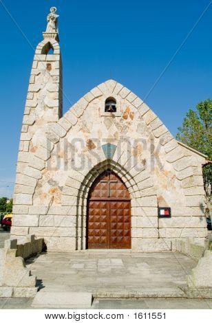 Church In Galicia, Spain