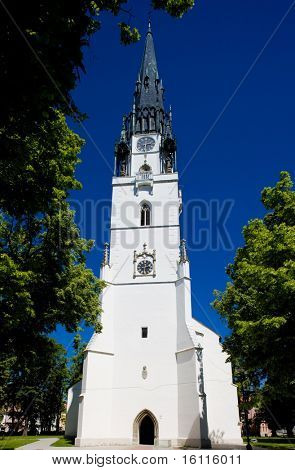 Church of St. Mary, Spisska Nova Ves, Slovakia