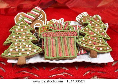 Christmas Trees Cookies