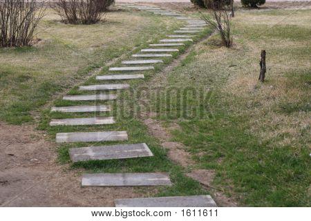 Stone Path Way