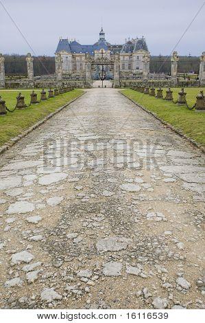 Vaux-le-Vicomte Palace, Seine-et-Marne, Ie-de-France, France