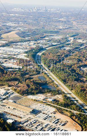 ver desde arriba, Atlanta, Georgia, Estados Unidos