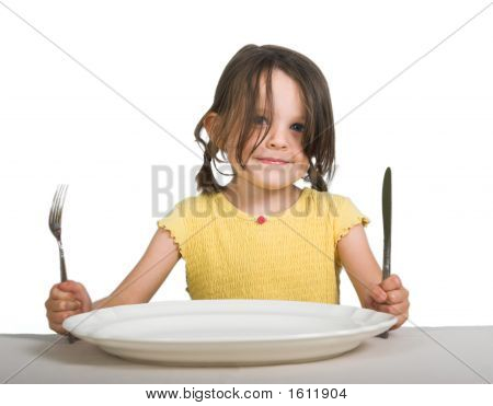 Girl With Plate1