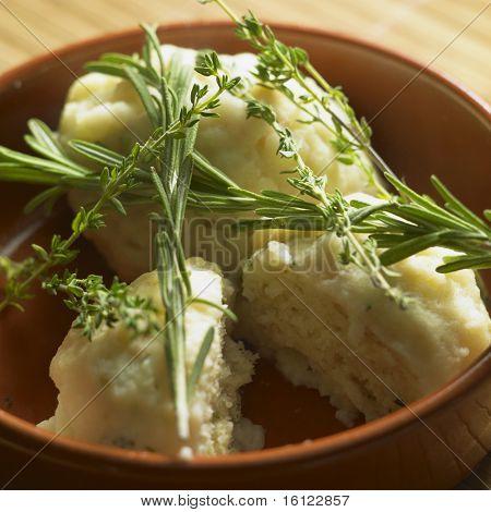herbal dumplings