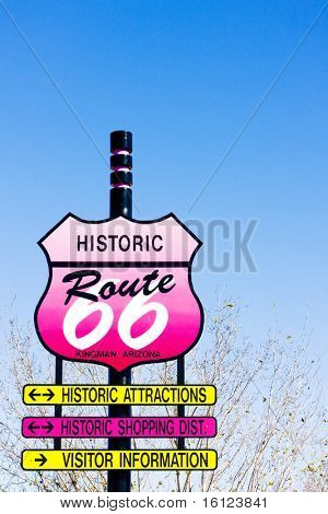 Route 66, Kingman, Arizona, USA