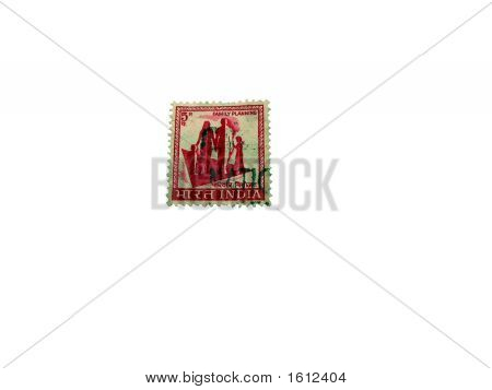 Indian Postal Stamp - Promoting Planned Family And Contraception