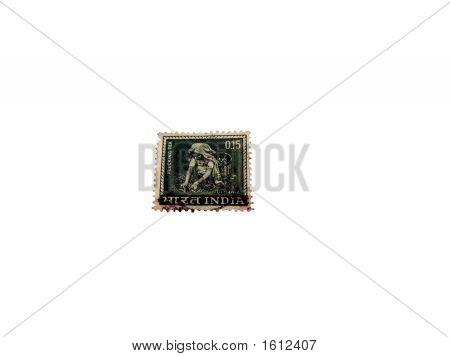 Tea Plucking - An Indian Postal Stamp