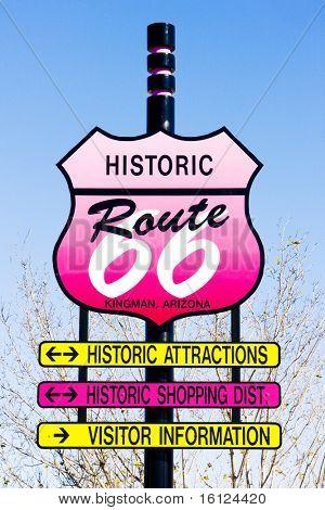 Route 66, Kingman, Arizona, USA
