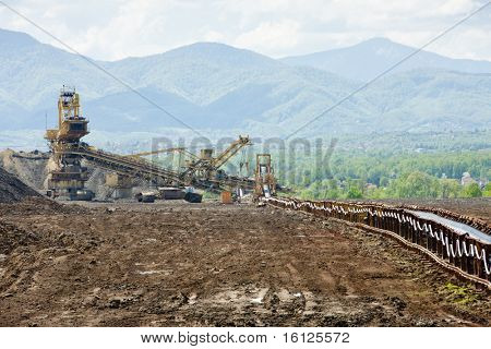 industry in Tuzla region, Bosnia and Herzegovina