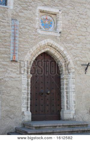 Termometr Door