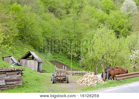 countryside of Bosnia and Herzegovina