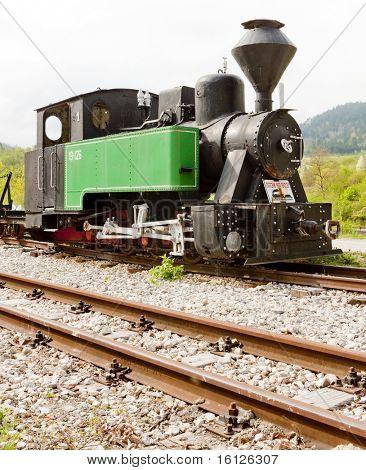 steam locomotive, Dobrun, Bosnia and Herzegovina