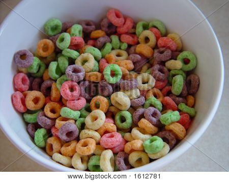 Cheerios In A Bowl