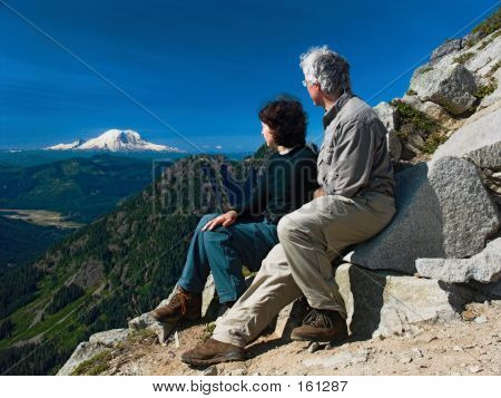 Viewing Mt. Rainier